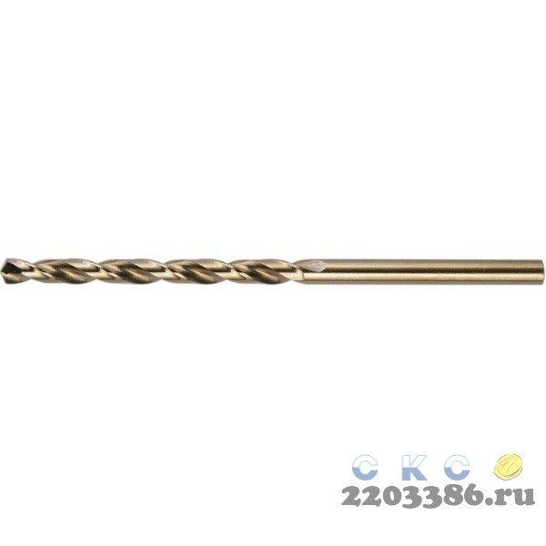 KRAFTOOL HSS-G 8.0 х117мм, Сверло по металлу HSS-G, сталь М2(S6-5-2)