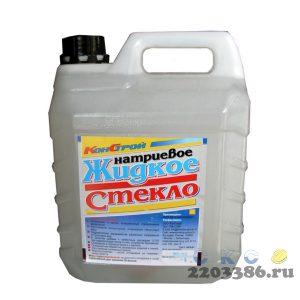 Жидкое стекло натриевое ( 6кг) канистра