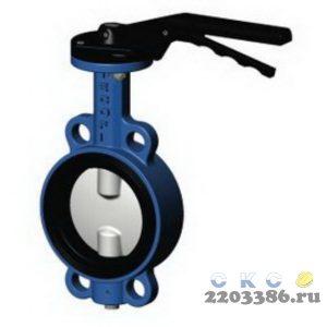 Затвор поворотный дисковый с ручкой, VP 3448-02-50 Tecofi, Франция