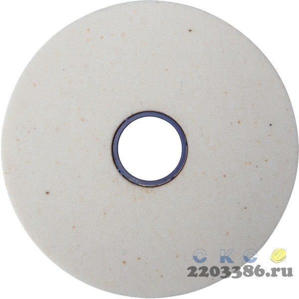 "Круг заточной абразивный ""Луга"", электрокорунд белый, зерно 60, 150х20, посадка 12,7мм"