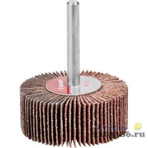 """Круг шлифовальный ЗУБР """"МАСТЕР"""" веерный лепестковый, на шпильке, тип КЛО, зерно-электрокорунд нормальный, P100, 20х50мм"""