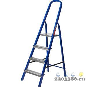 Лестница-стремянка стальная, 4 ступени, 80 см, MIRAX