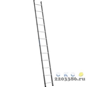 Лестница СИБИН приставная, 12 ступеней, высота 335 см