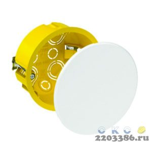 Коробка распр 80х45мм IP20 ГИПРОК Schneider Electric IMT35160