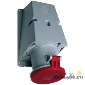 Розетка кабельная 63А 3Р+N+E IР44 на поверхность 415В CEWE (463 RS6)