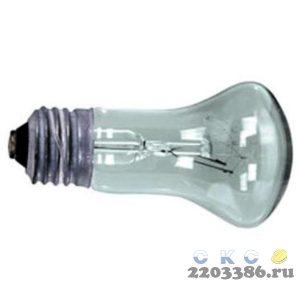 Лампа накаливания ЛОН 60вт 230-60 Е27 цветная гофрированная упаковка (Грибок)