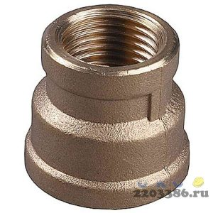 "Муфта GENERAL FITTINGS переходная, латунь, 1/2""-3/4"""