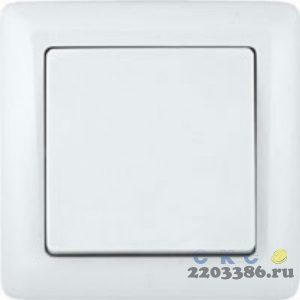 ХИТ Выключатель скр. 1кл. (250В, 6А) белый ВС16-133-б