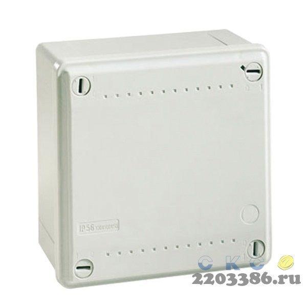 Коробка распределительная IP56 100х100х50мм гладкие стенки