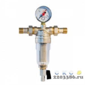 """Фильтр промывной с манометром TIM JH-2002 - 3/4"""""""