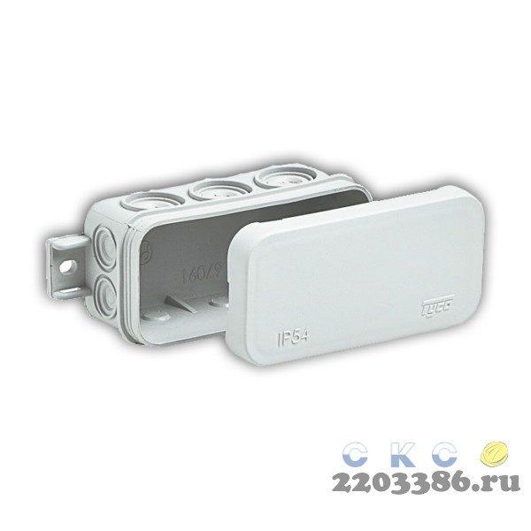 Коробка распределительная TYCO 43х80х35 IP54 8 кабельный ввод