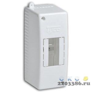 Щит распределительный навесной ЩРн-П-2 IP30 пластиковый белый без двери Tyco (68022) 9687044
