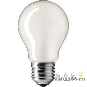 Лампа ЛОН 40вт A55 230в E27 Philips (035453284) (120шт/уп) 9678722