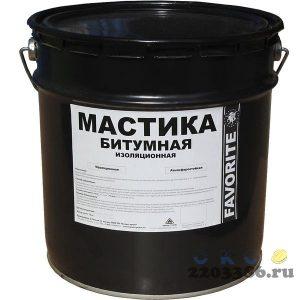 Мастика битумная МБИ 15кг