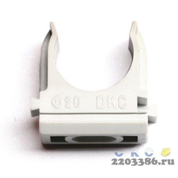 Держатель с защелкой 20 мм для труб (CTA10D-CF20-K41-100)