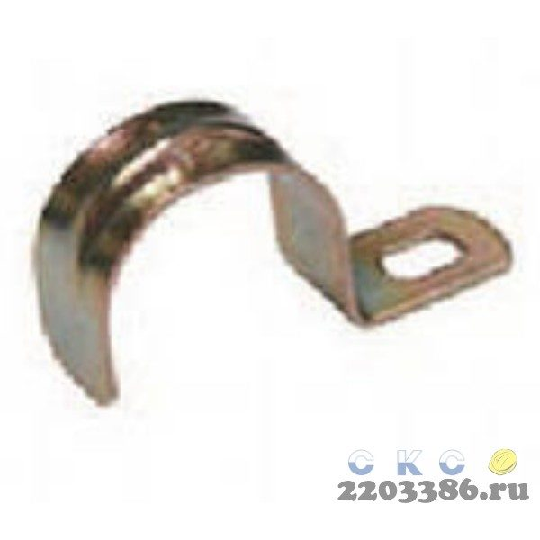 Скоба металлическая однолапковая d38-40мм (CMA10-38-100) 169992837