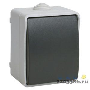 ФОРС Выключатель одноклавишный наружный IP54 (ВС20-1-0-ФСр)