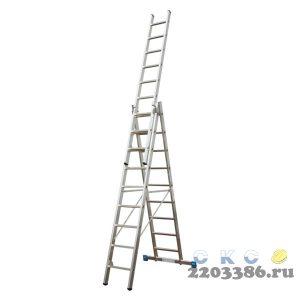 Лестница-стремянка трехсекционная KRAUSE STABILO 3х 9
