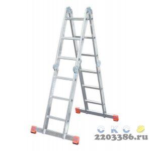 Лестница-трансформер KRAUSE MONTO MULTIMATIC 4х3 шарнирная, универсальная