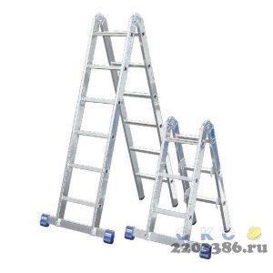 Лестница-трансформер KRAUSE STABILO  2х3+2х6 шарнирная, комбинированная