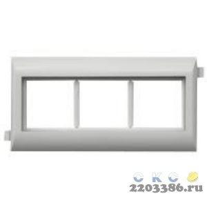 Рамка/cуппорт Mosaic  на 4 модуля DLP на крышку 65 мм (10954) 9797991
