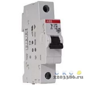 Выключатель автоматический 1п 32А С SН201L 4.5кА