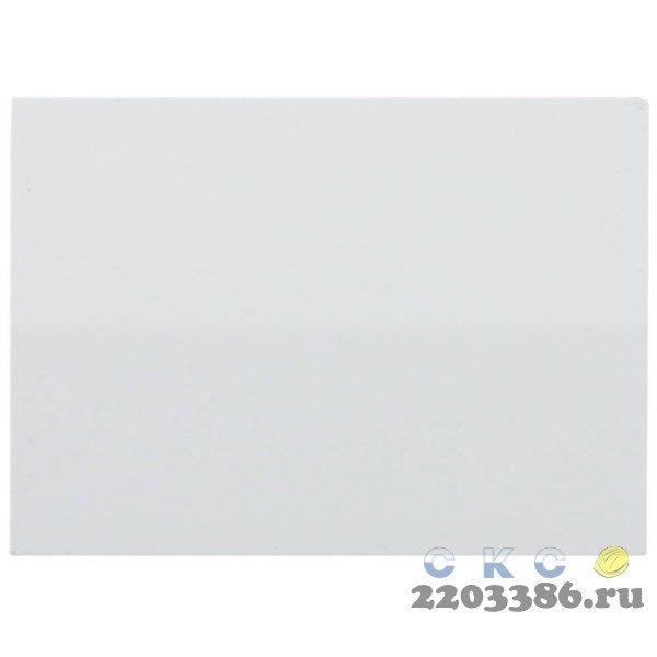 """Выключатель СВЕТОЗАР """"ЭФФЕКТ"""" одноклавишный, без вставки и рамки, цвет белый, 10A/~250B"""