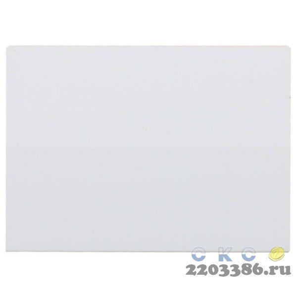 """Выключатель СВЕТОЗАР """"ЭФФЕКТ"""" проходной, одноклавишный, без вставки и рамки, цвет белый, 10A/~250B"""