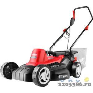 ЗУБР 1600 Вт газонокосилка сетевая, ш/с 380 мм, 9.9 кг