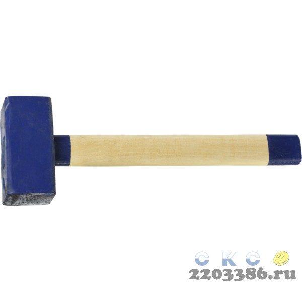 СИБИН 10 кг кувалда с деревянной удлинённой рукояткой