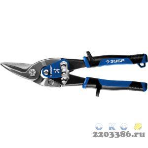 ЗУБР КАТРАН ножницы по металлу, 250 мм, левые, Cr-Mo
