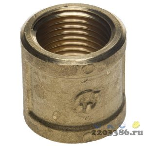 Муфта GENERAL FITTINGS латунь, 1/2""