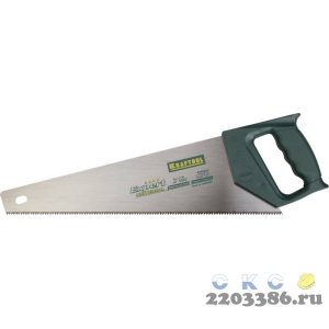"""Ножовка универсальная """"Alligator Universal 7"""", 500 мм, 7 TPI 3D зуб, KRAFTOOL"""