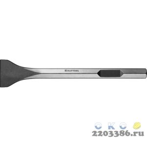 KRAFTOOL ALLIGATOR HEX 28 Зубило лопаточное 75 х 400 мм