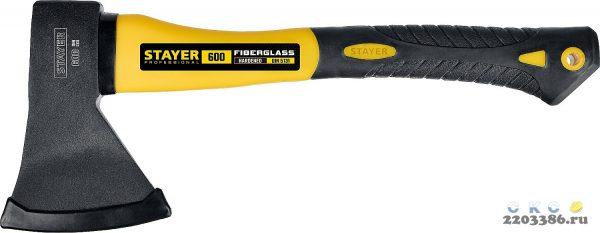 FIBERGLASS Топор 600 350 мм (общий вес 800 г) STAYER