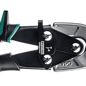 KRAFTOOL Ножницы по металлу Alligator, правые удлинённые, Cr-Mo, 280 мм
