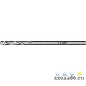 ЗУБР ПРОФ-А 1.3х38мм, Сверло по металлу, сталь Р6М5, класс А