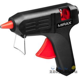 MIRAX. Пистолет клеевой (термоклеящий) электрический, 40Вт/220В, 11мм
