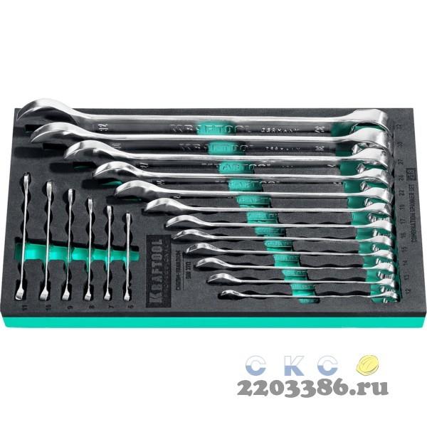Набор комбинированных гаечных ключей 18 шт, 6 - 32 мм, KRAFTOOL