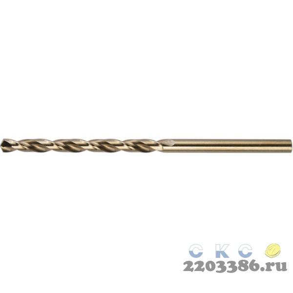 KRAFTOOL COBALT 7.0 х109мм, Сверло по металлу HSS-Co(8%) , сталь М42(S2-10-1-8)