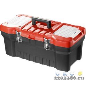 """Ящик для инструмента пластиковый, 22"""", ЗУБР"""