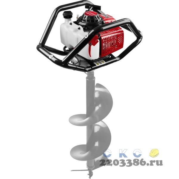 Мотобур (бензобур), без шнека, d=60-300 мм, 71 см3, 2 оператора, ЗУБР