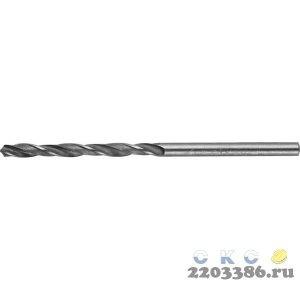 STAYER PROFI 1.0х34мм, Сверло по металлу HSS-R, быстрорежущая сталь М2(S6-5-2)