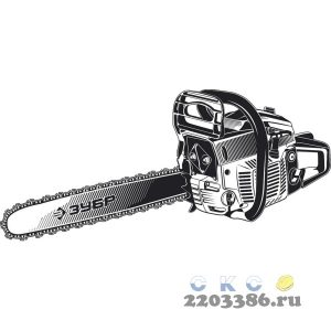 ЗУБР ПБЦ-М40-40 бензопила, 40 см3, шина 40 см