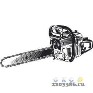 ЗУБР ПБЦ-М49-45 бензопила, 49 см3, шина 45 см