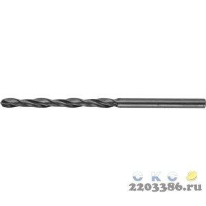 ЗУБР МАСТЕР 3.5х70мм, Сверло по металлу, сталь Р4М2, класс В