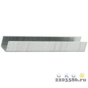 """Скобы тип 140, 6 мм, особотвердые, ЗУБР """"ЭКСПЕРТ"""" 31630-06-5000, 5000 шт"""