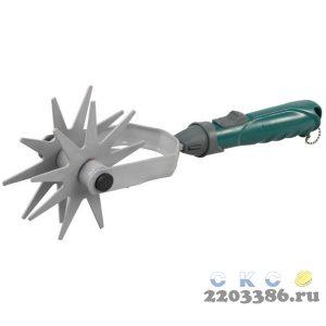 Культиватор садовый RACO, дисковый двухзвездочный, коннекторная система, 40,5см