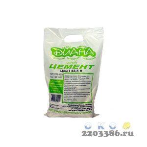 Цемент М-500 3кг (10) ДИАНА