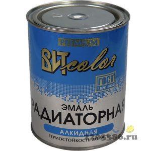 Эмаль для радиаторов белая ( по 0,8 кг) ВИТ color, 14шт/уп